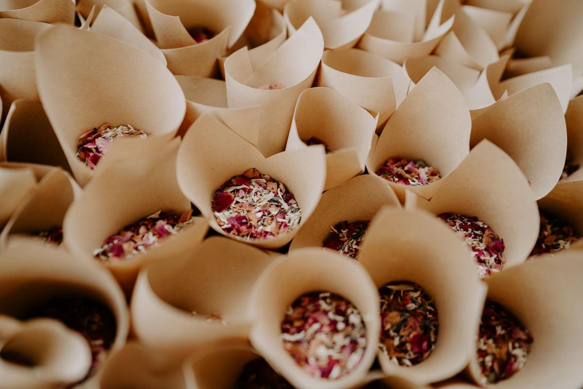 confettis ecologiques mariage vendee
