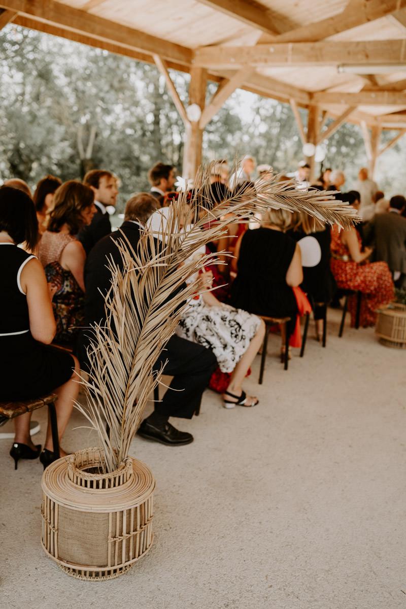décoration mariage boheme vendee