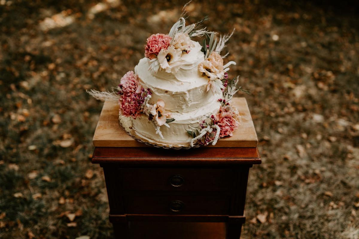 decoration naked cake mariage vendee