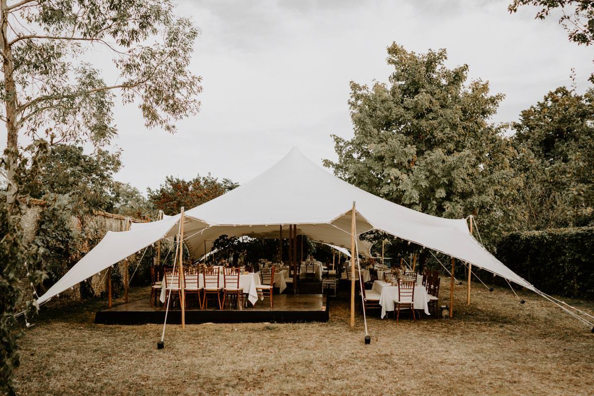 tente bambou mariage vendee
