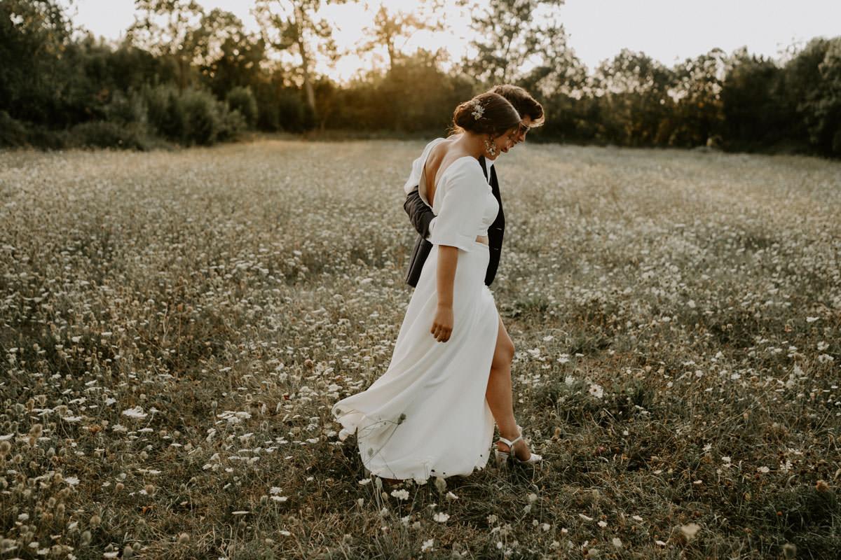robe boheme mariage vendee