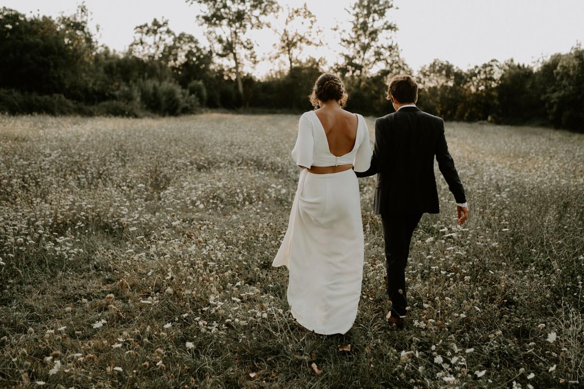 robe mariage boheme vendee