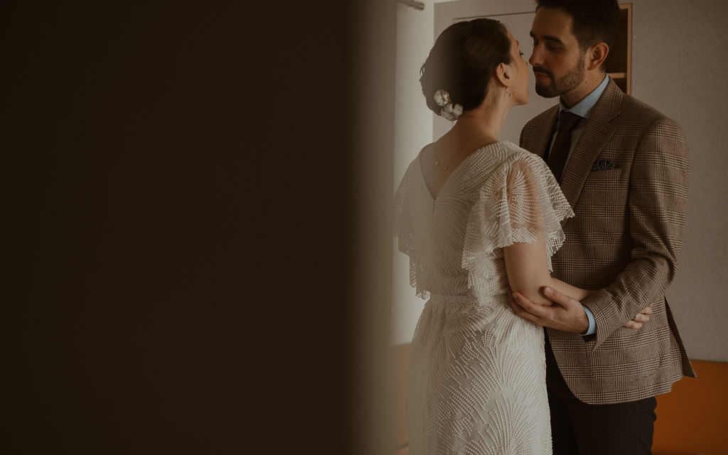 preparation de la mariee mariage hiver pays de la Loire