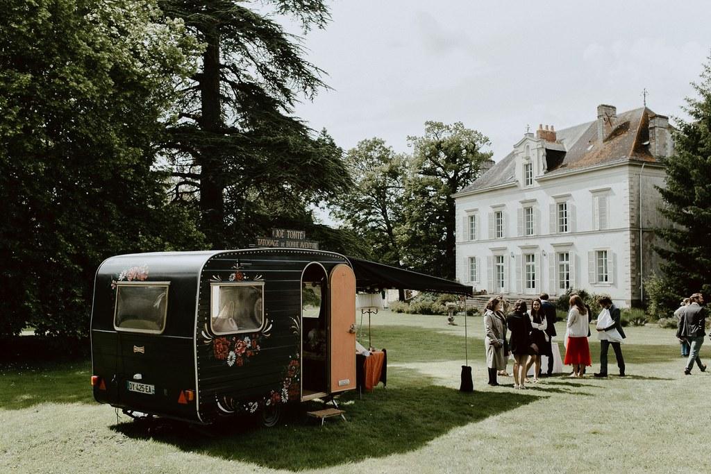 food truck caravane a tatouage Loire atlantique