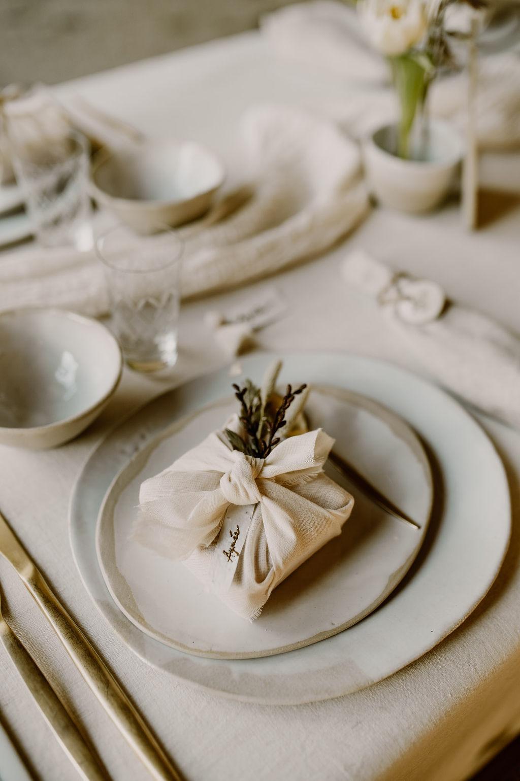 vaisselle ecoresponsable mariage