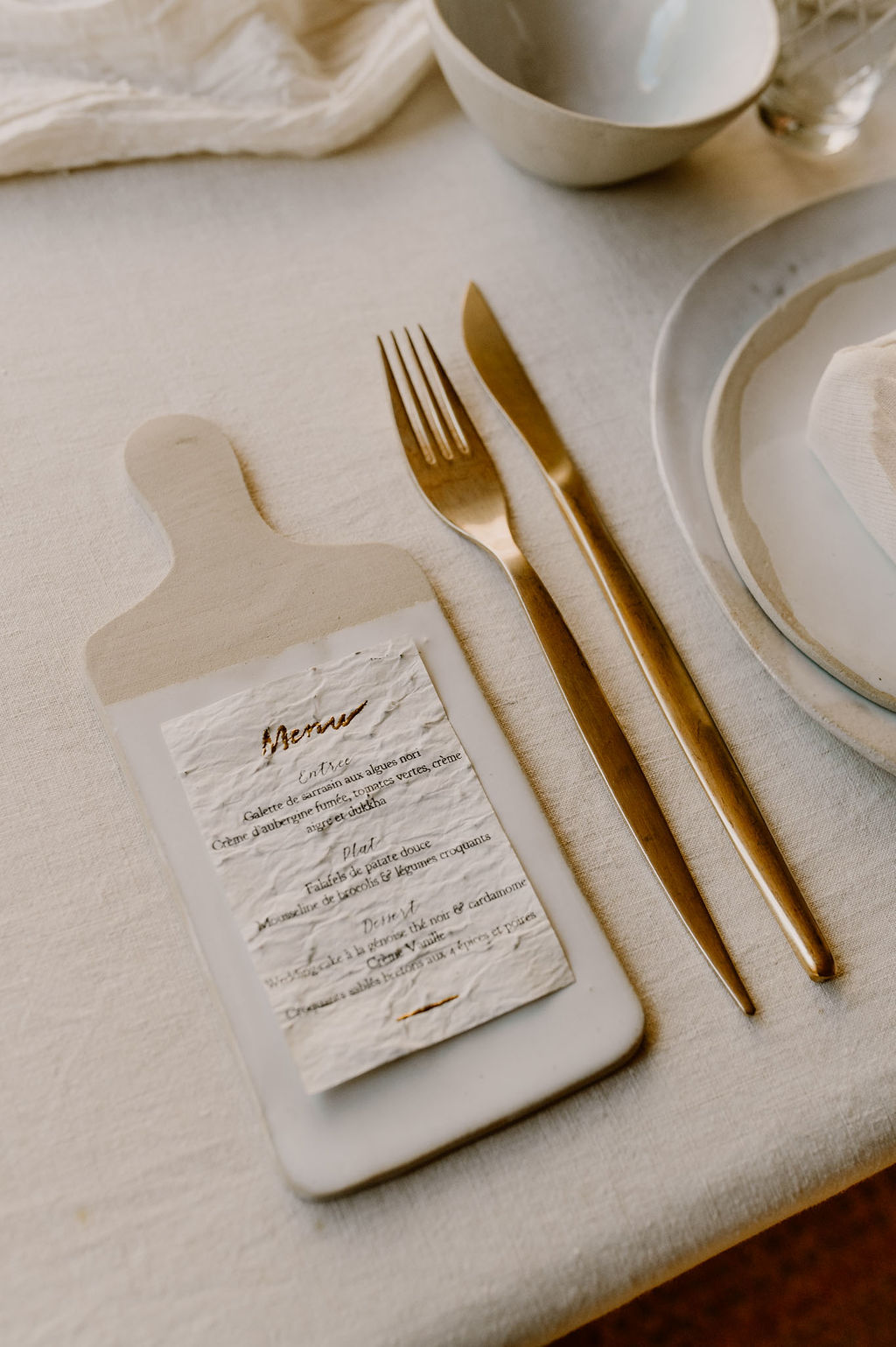 couverts dores location mariage