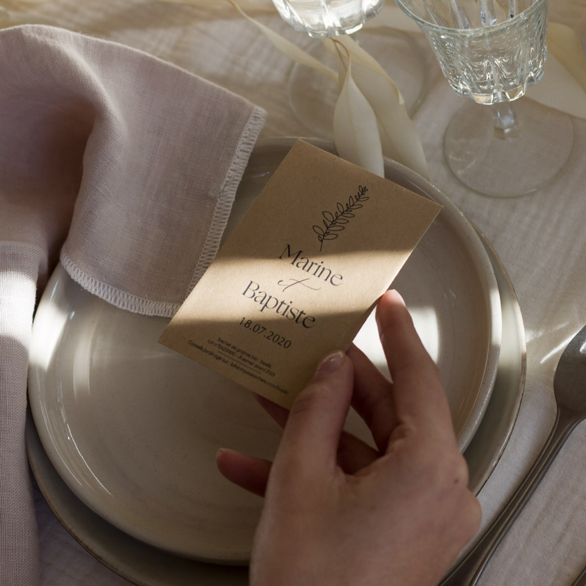 cadeau d'invite ecoresponsable nantes