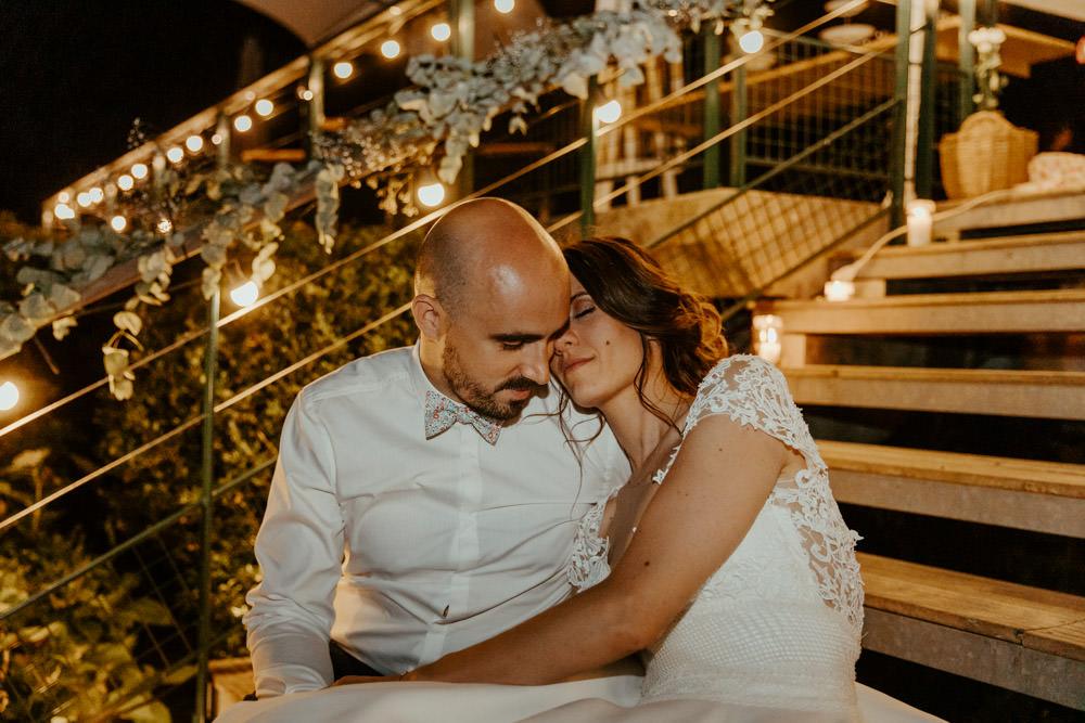 amoureux diner mariage