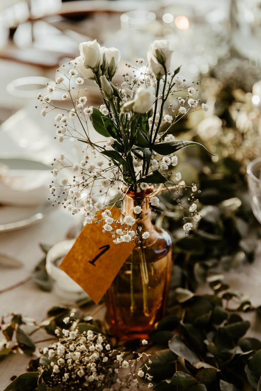 decoration florale vegetale style champetre