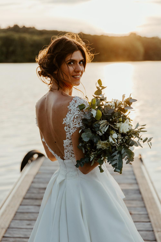 bouquet de mariee champetre vegetal