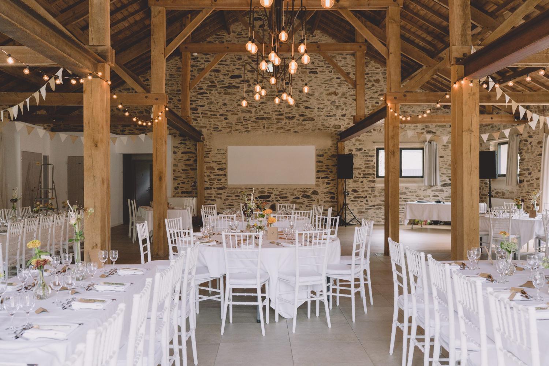 décoration de salle mariage Nantes