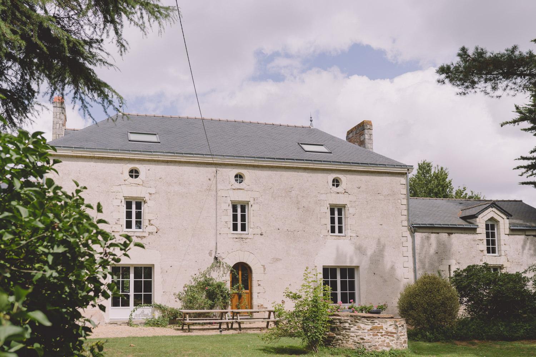 Domaine de mariage Nantes Mariage bohème chic Manoir Sainte Marie Loire Atlantique