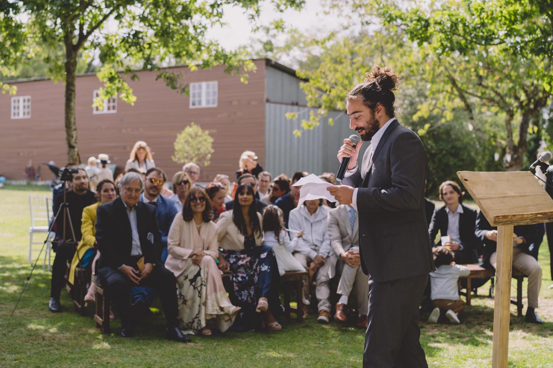 Mariage bohème cérémonie laique