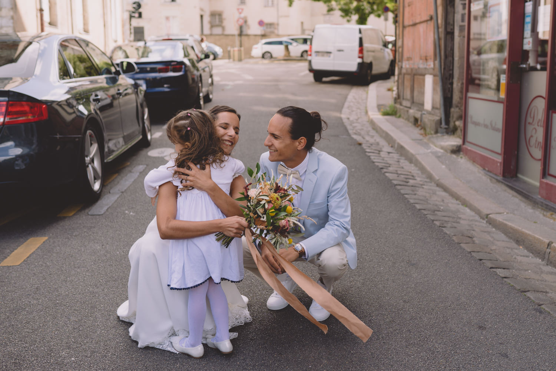 Robe demoiselle d'honneur mariage Nantes