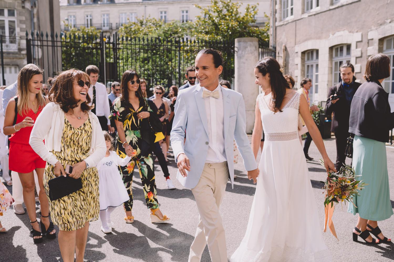 Mariés bohème Nantes