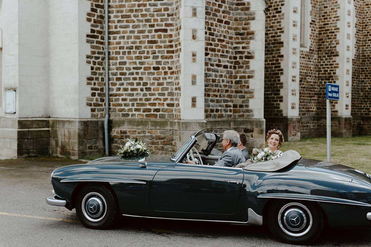voiture collection pour mariage