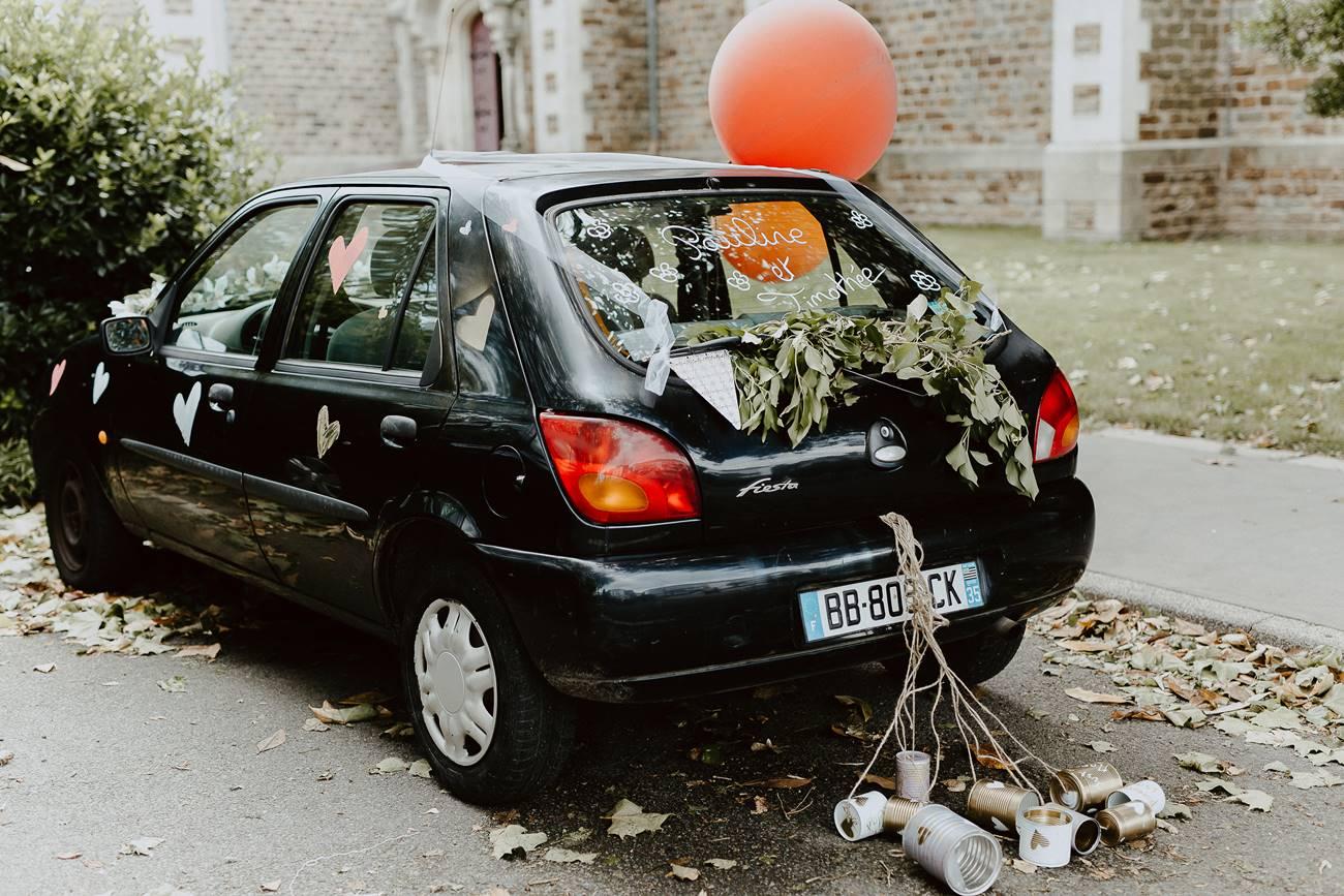 voiture mariage Loire atlantique
