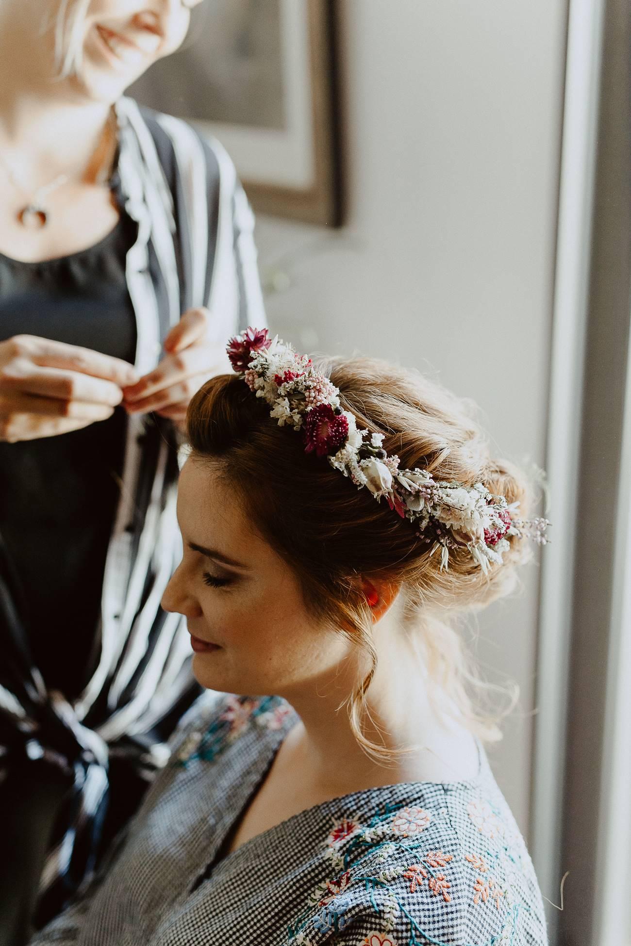 coiffure et couronne mariage nantes