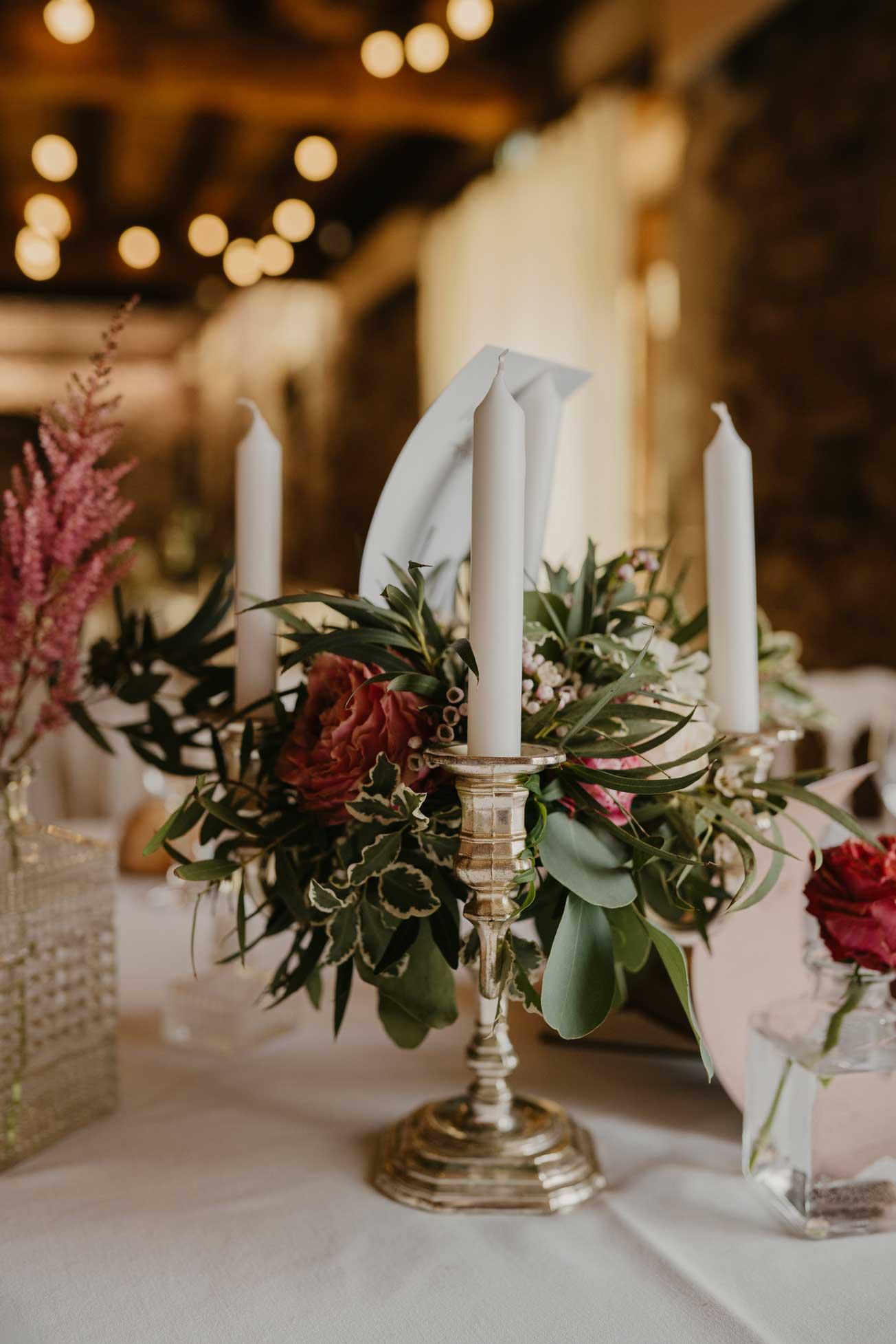 décoration de table végétal nantes