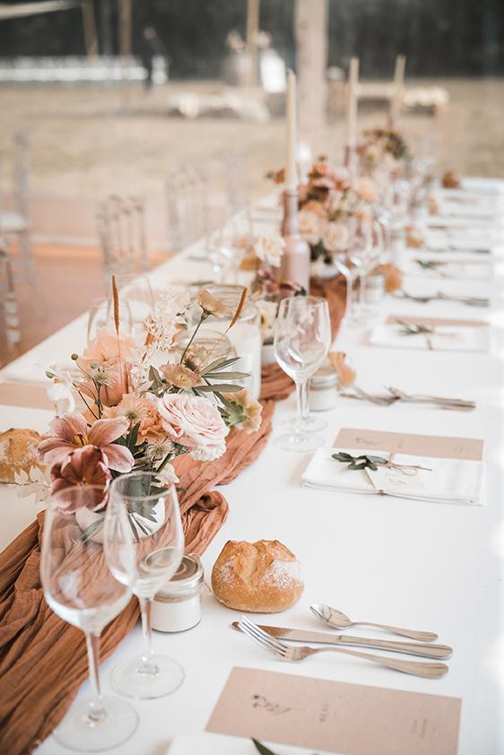fleurs table mariage nantes