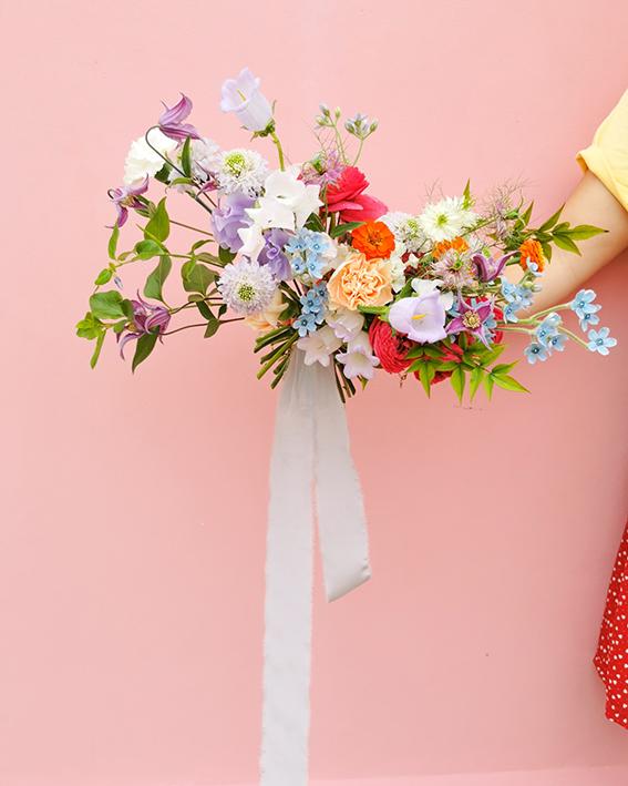 bouquet mariee original colore nantes