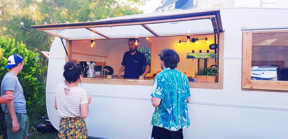 caravane bar vintage bretagne