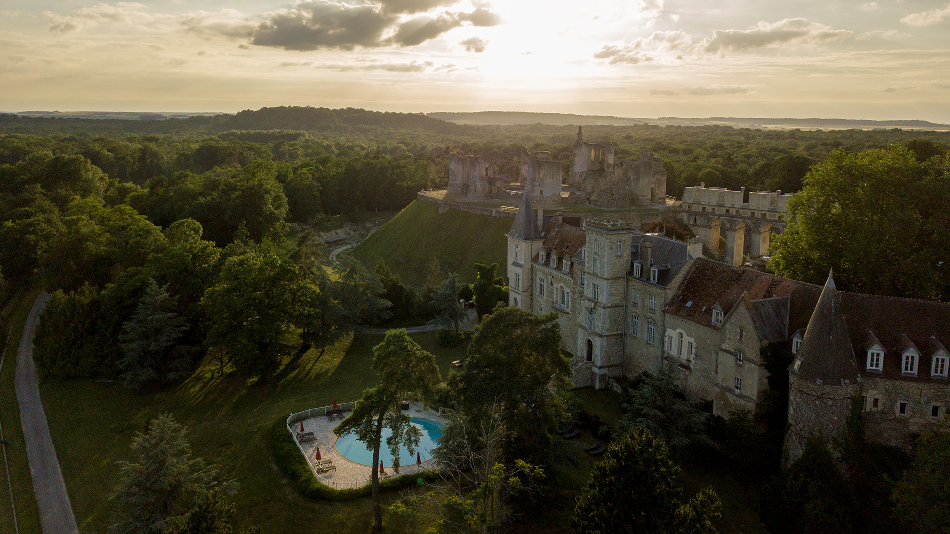 Mariage chateau videaste Julien Duthe