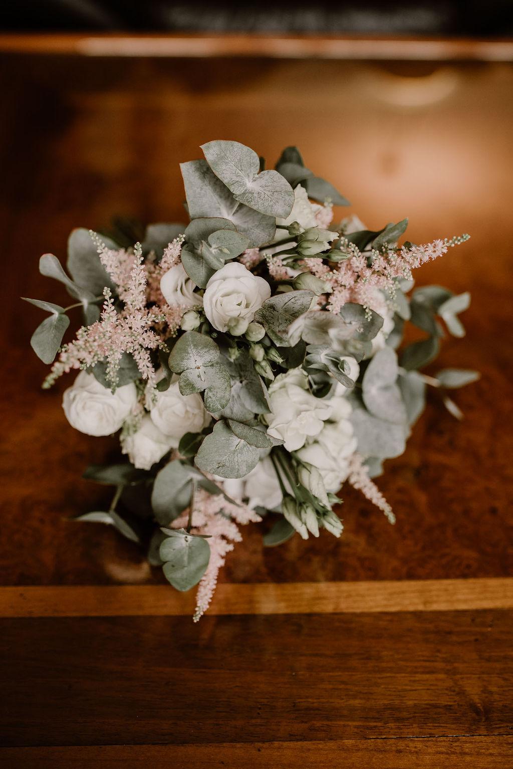 bouquet de mariee boheme vegetal guerande