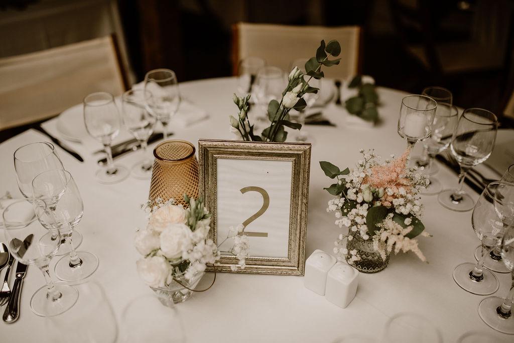 centre de table vegetal mariage