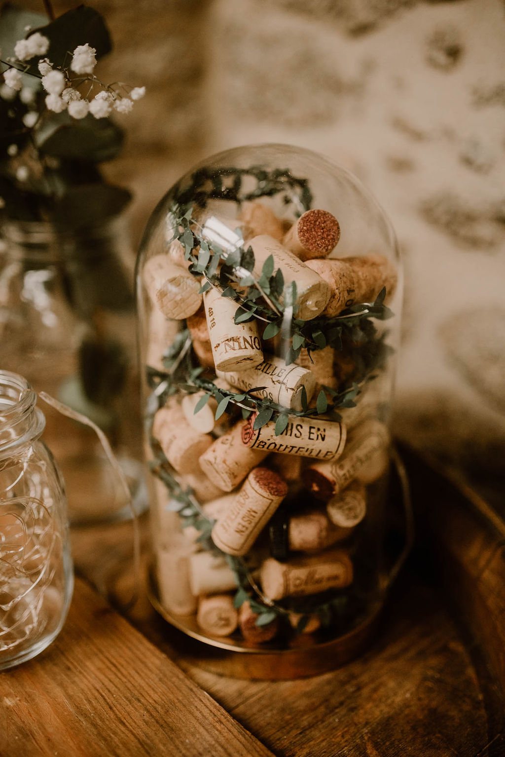 mariage decoration vin