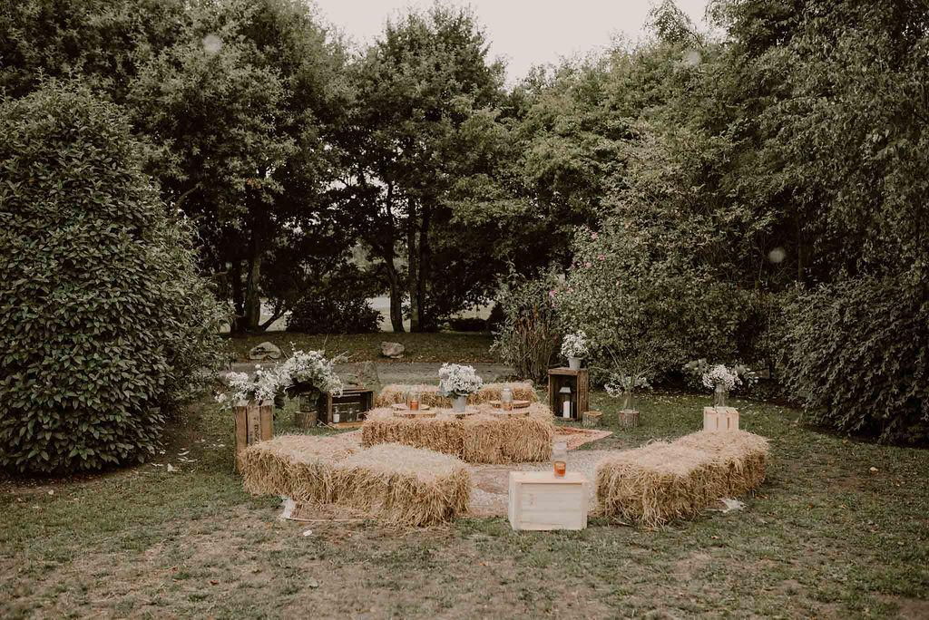decoration champetre chic mariage