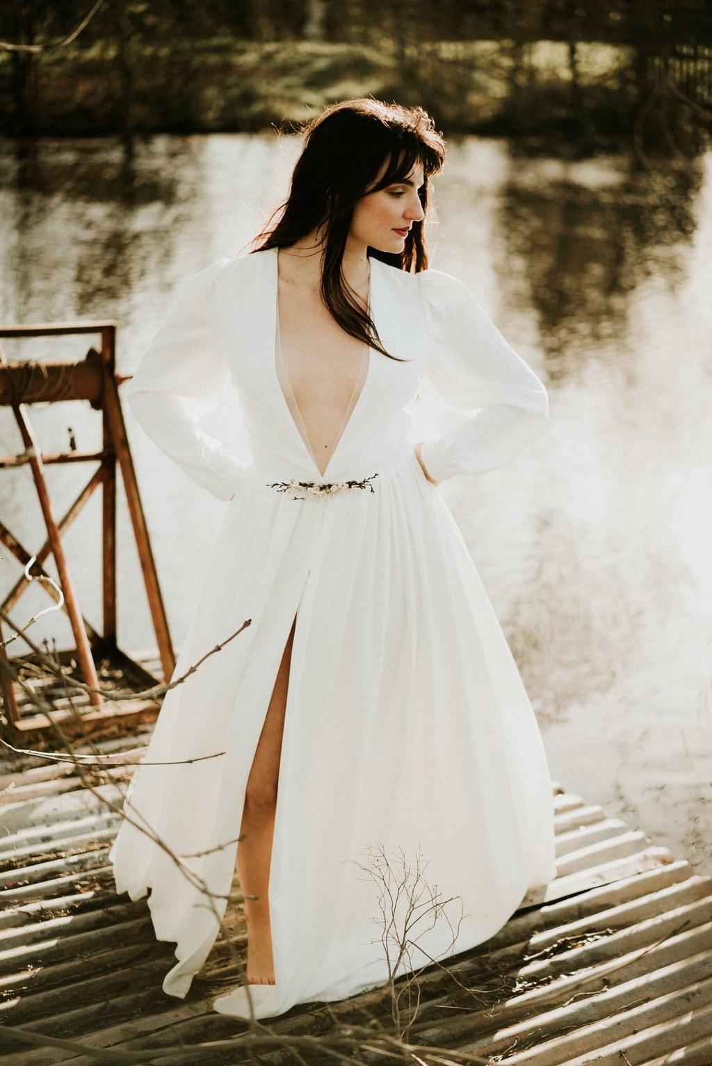 robe de mariee manches longues