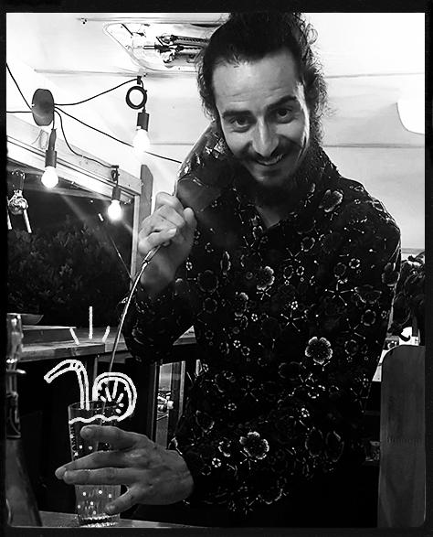 caravane bar mariage Bretagne cocktails