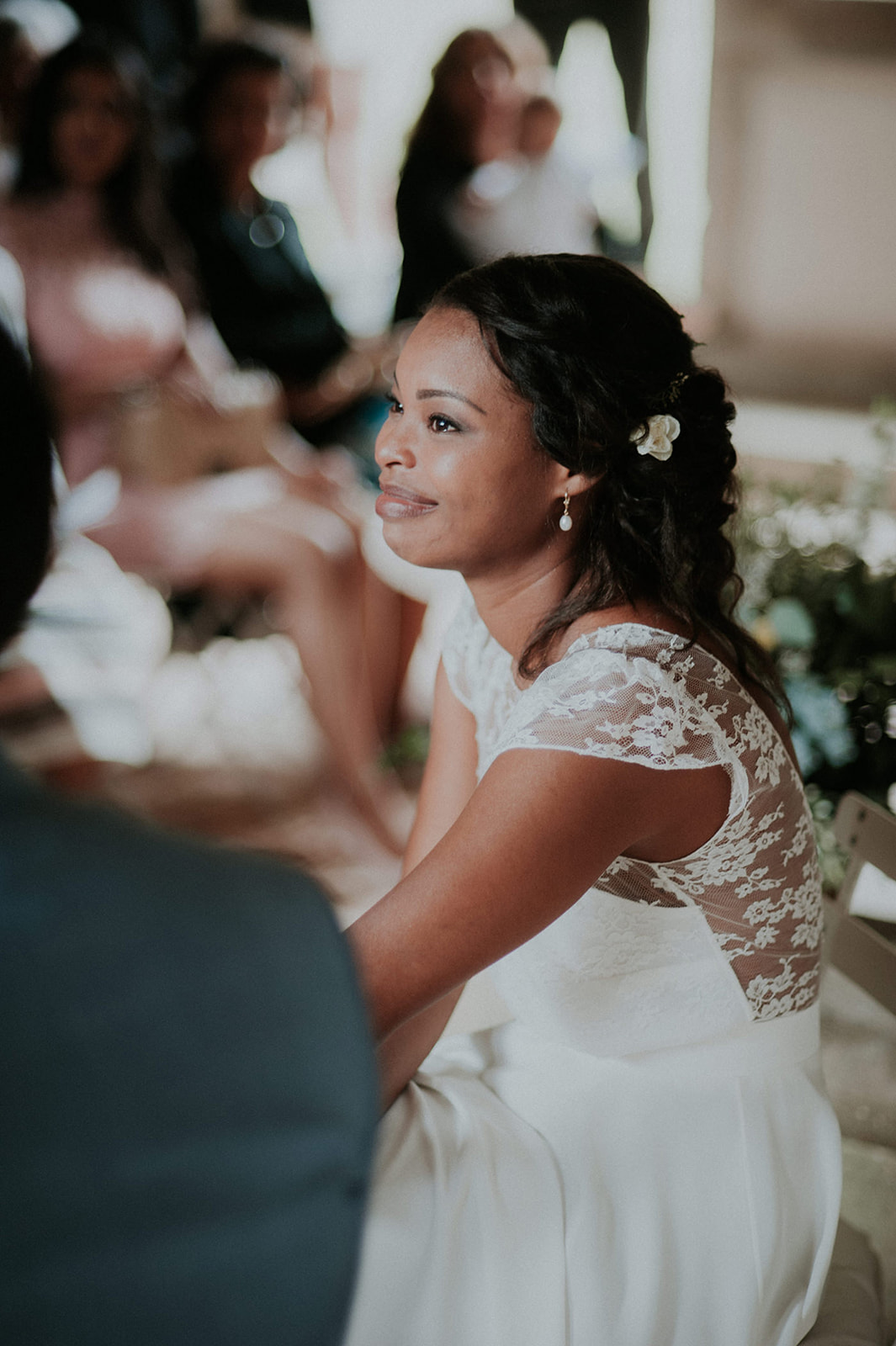 robe de mariee dentelle champetre chic mariage nantes