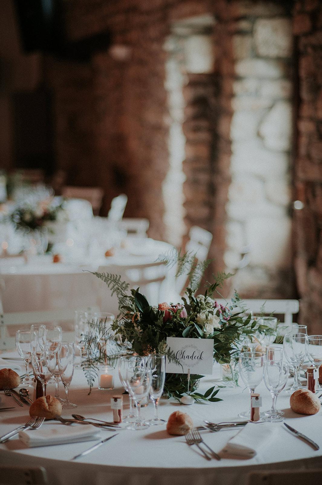 decoration champêtre végétale mariage nantes