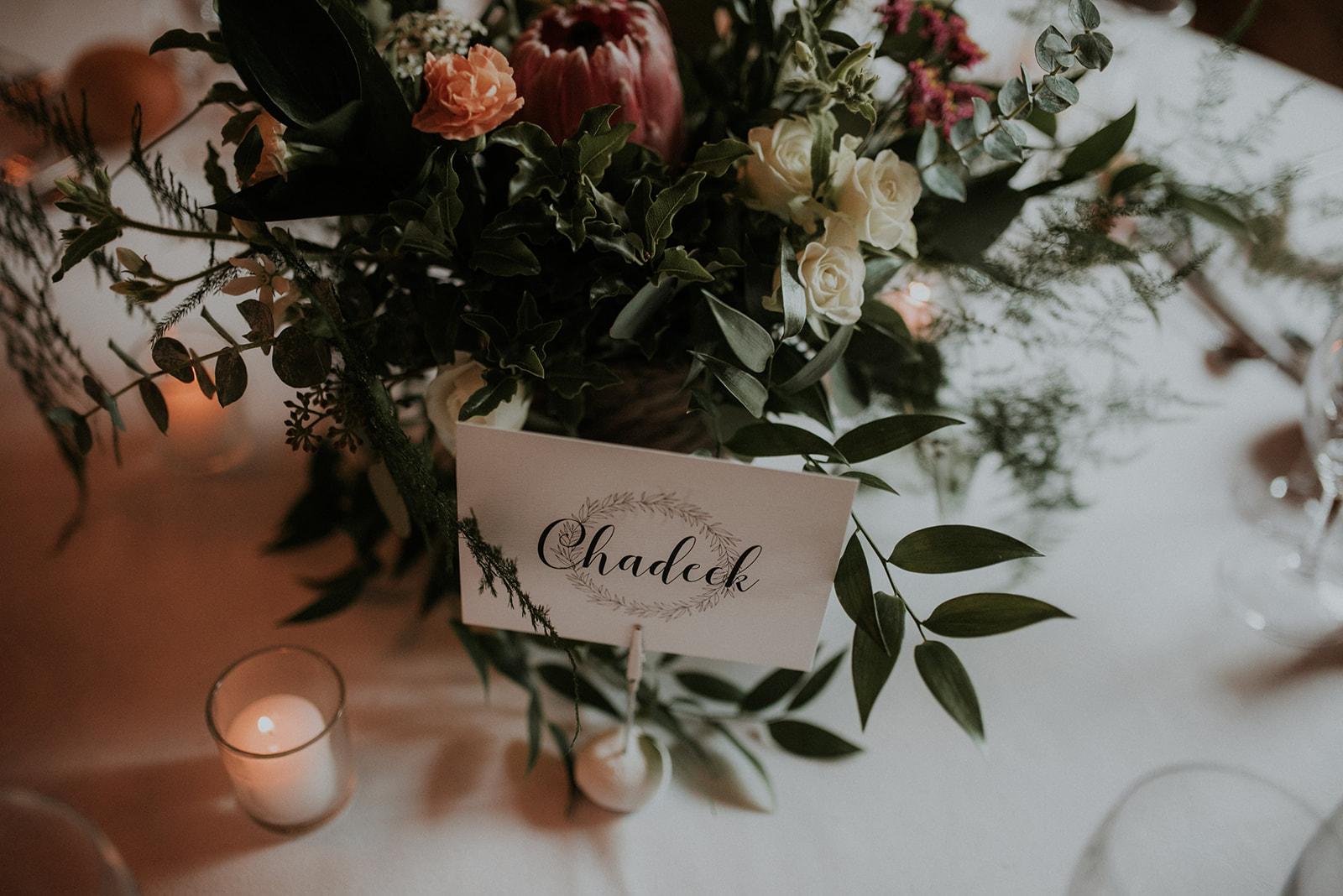 nom de table mariage nantes