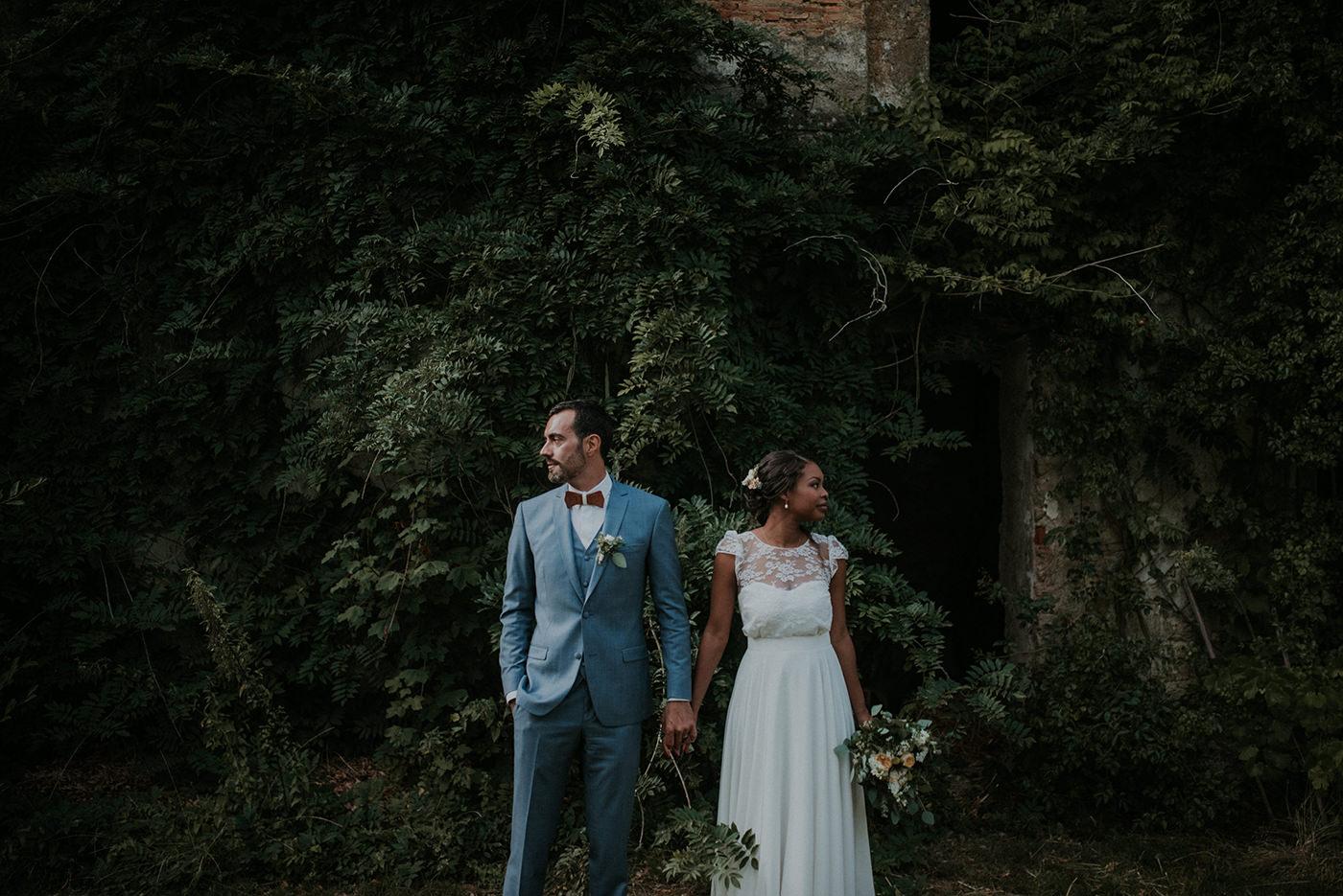 mariage champêtre végétal nantes