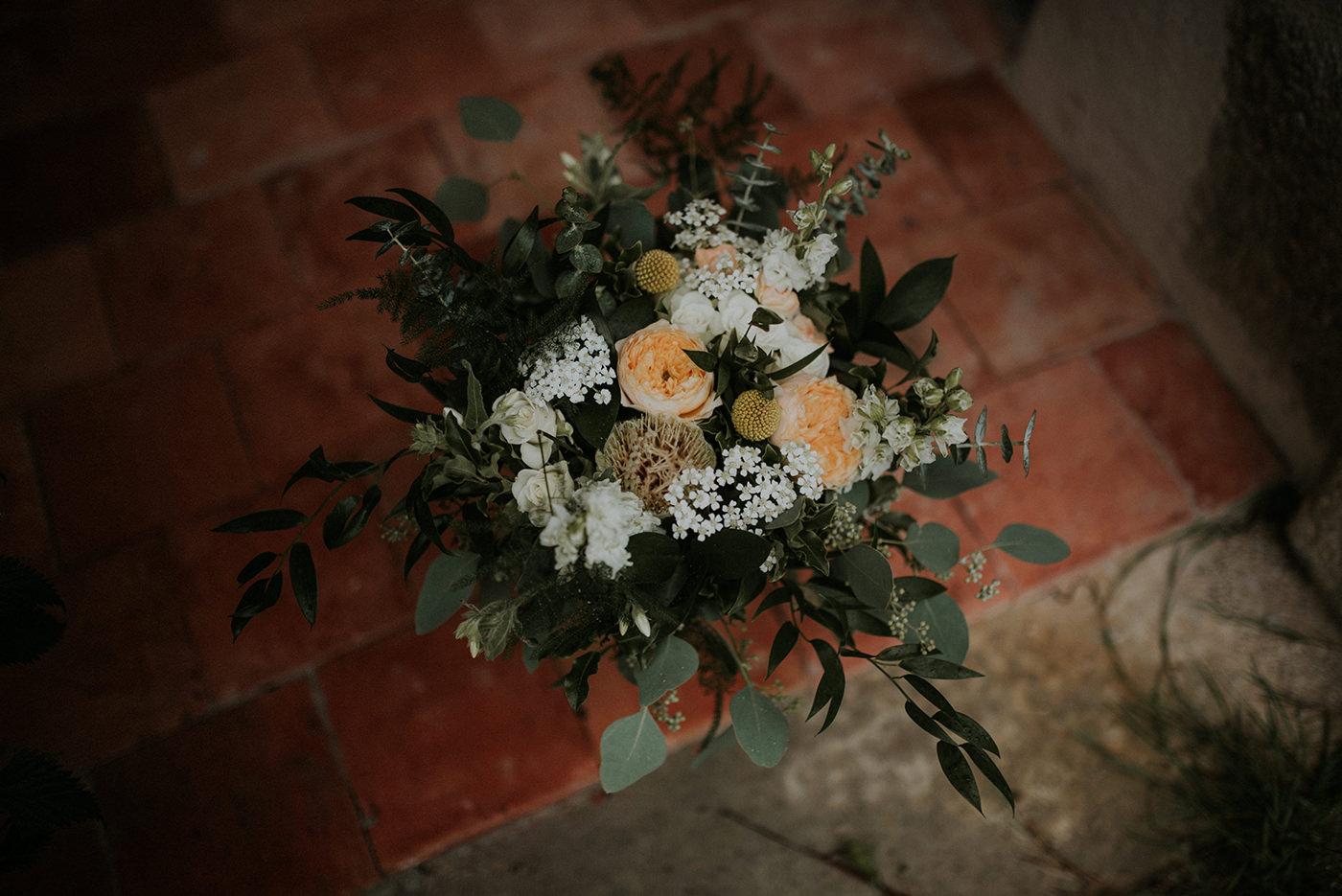 bouquet de mariée champêtre boheme chic nantes