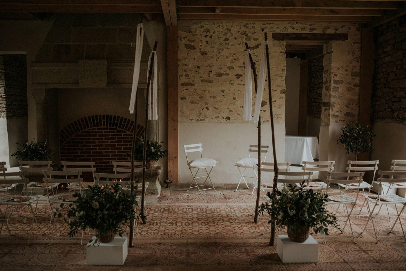 décoration mariage vegetal nantes