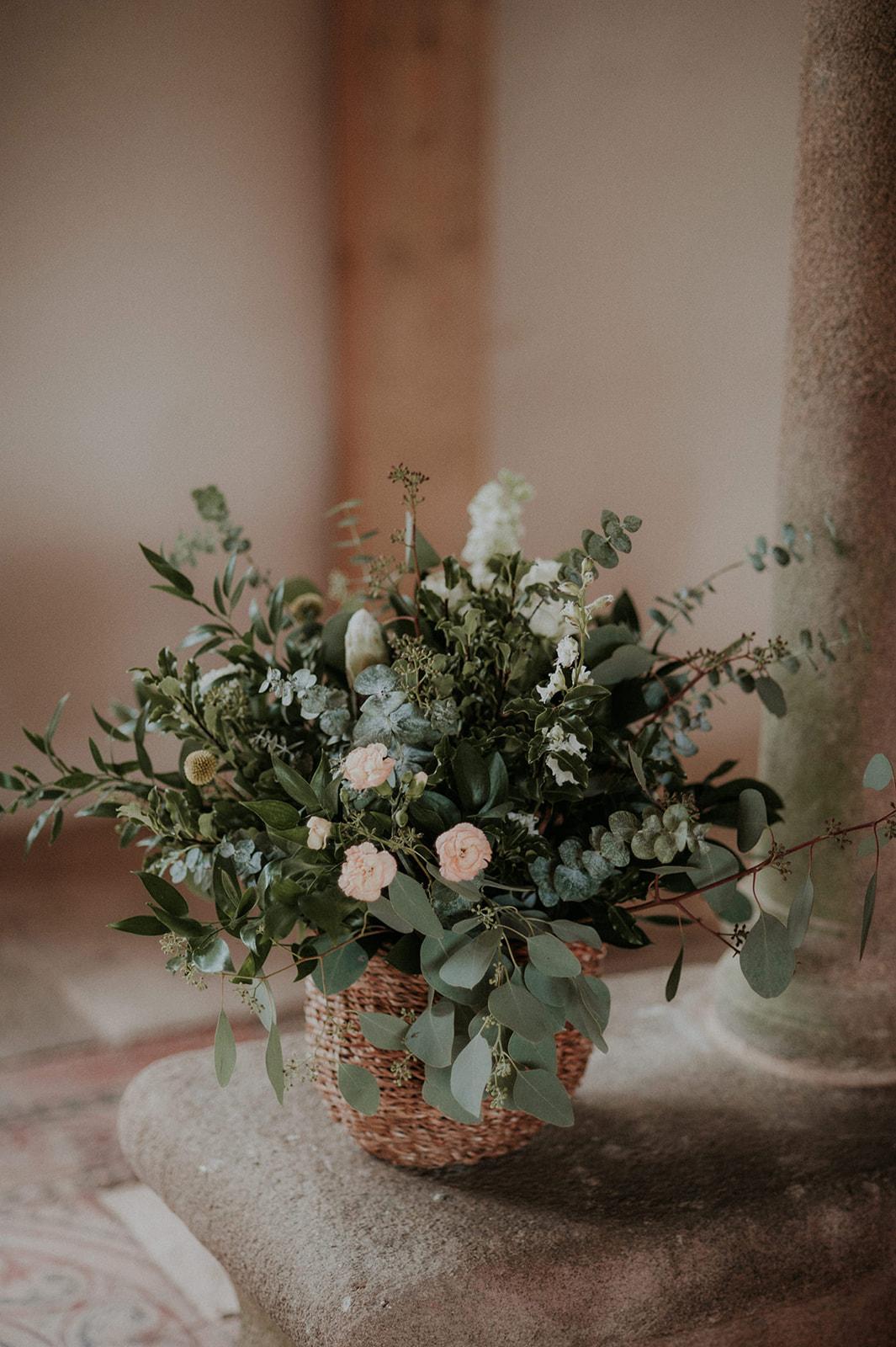 decoration florale champêtre mariage nantes