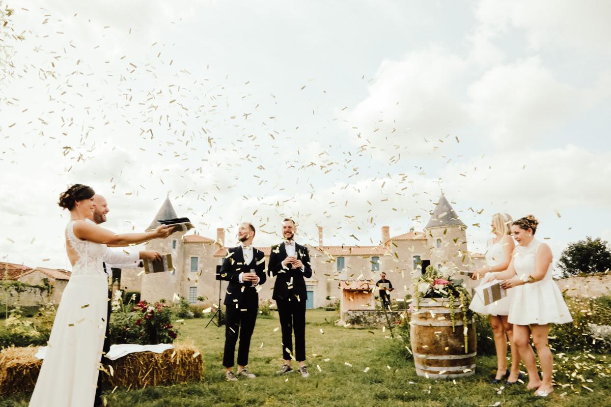 ceremonie laique mariage homosexuel vendee chateau de la chevallerie