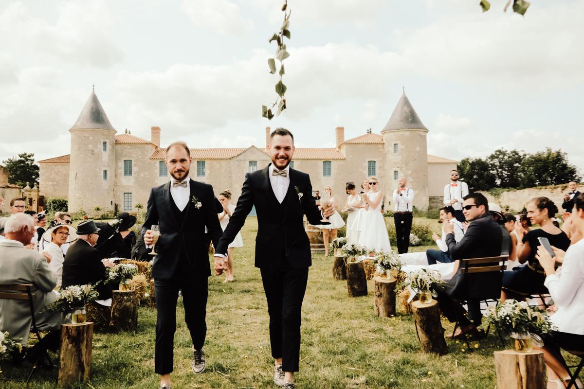 ceremonie laique mariage homosexuel vendee