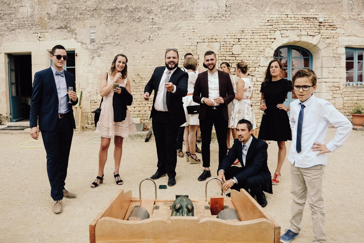 jeux en bois mariage vendee