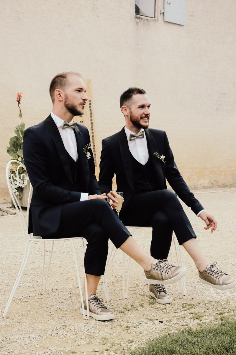 costumes des maries mariage homosexuel