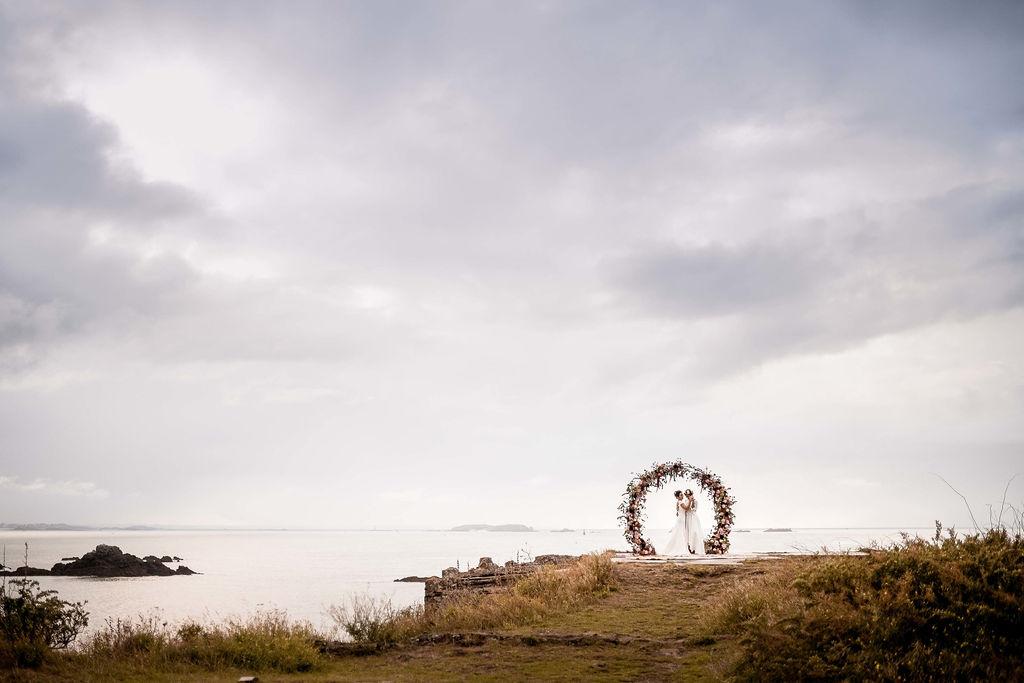 decor floral ceremonie laique Saint Malo