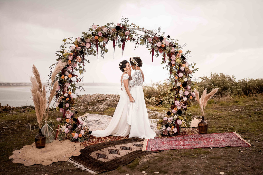 ceremonie laique deco mariage Saint Malo