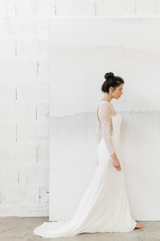 robe de mariee française moderne