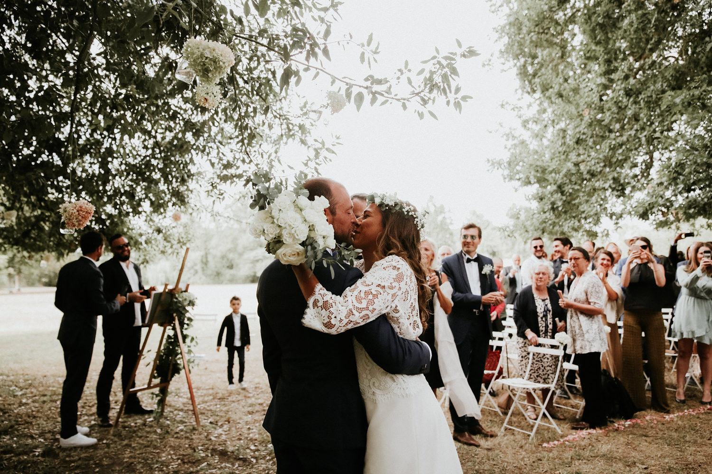 mariage boheme chic blanc
