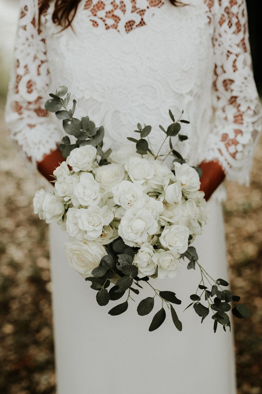 bouquet de mariee blanc