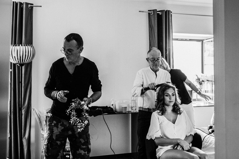 coiffeur maquilleur mariage enceins